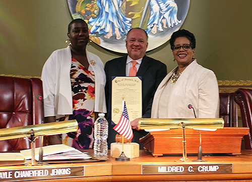 "Award for ""Embracing Quality"" Leads to Recognition by Newark City Council"
